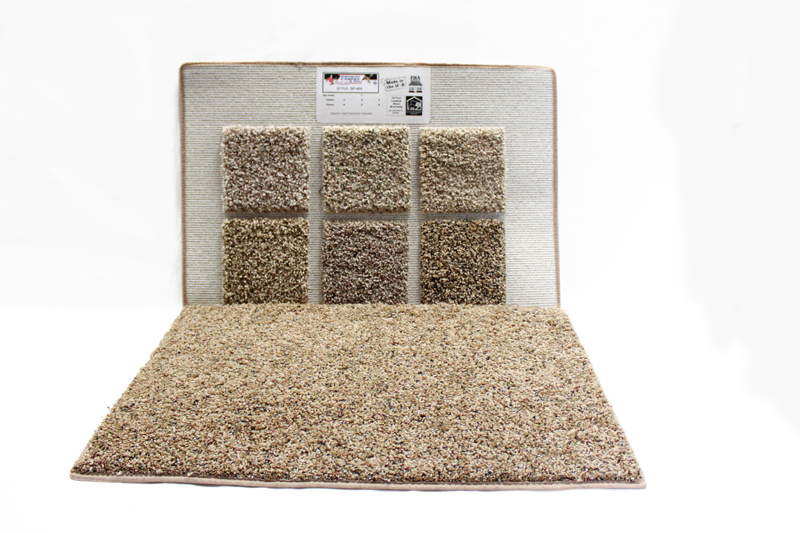 solution dyed polyester carpet